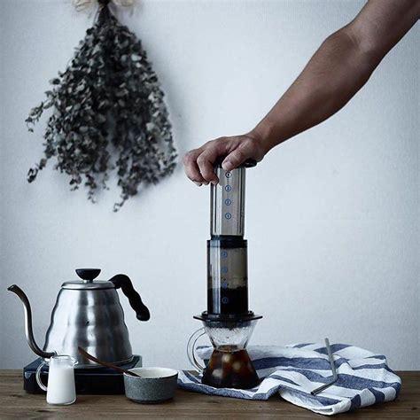 coffee scale aeropress ice kettle