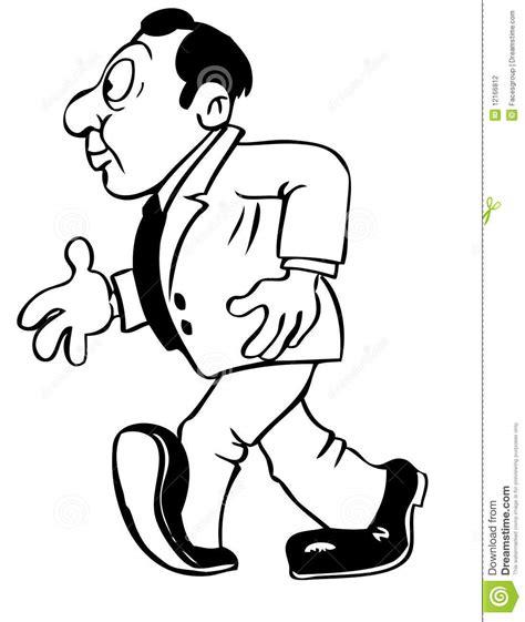 cartoon drawing   man stock vector illustration