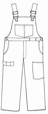 Bib Clipart Overall Overalls Coloring Farmer Boy Template Printable Clip Baby Pages Boys Clipground Cliparts Google Sketch Card Line Br sketch template