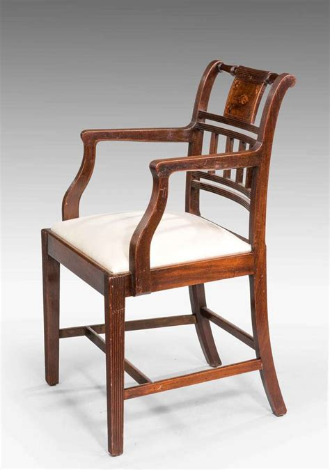 pair of 18th century sheraton period chairs for sale