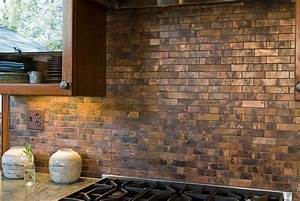 20 copper backsplash ideas that add glitter and glam to With kitchen colors with white cabinets with outdoor copper wall art