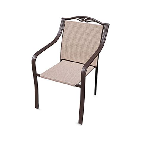 wilson fisher 174 portofino sling stack chair big lots
