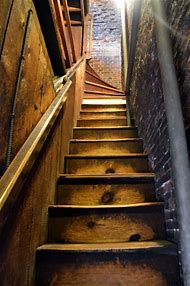 Boston Old North Church Staircase