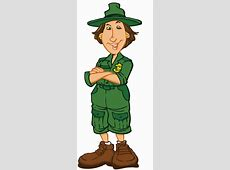Wilderness clipart park ranger Pencil and in color