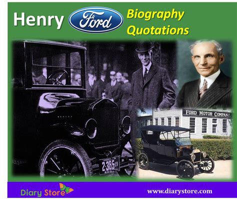 henry ford biography ford motor company ceo inspiration