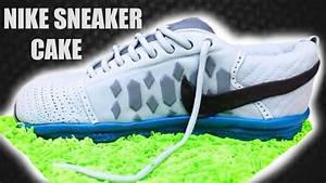 Nike Sneaker Cake  Tutorial