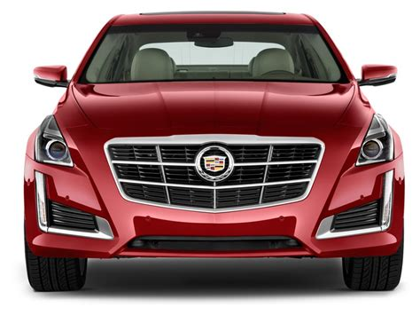 2016 Cadillac Cts 4-door Sedan 2.0l Turbo Rwd Front