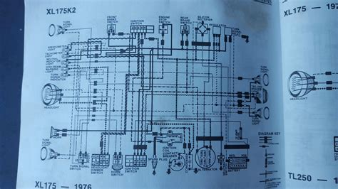 1973 Honda Xl175 Wiring Diagram For A by 1974 Honda Cb125 Wiring Diagram Wiring Library