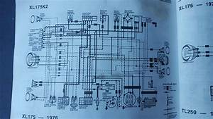 1975 Honda Xl175  Electrical Help With Condenser  Ignition