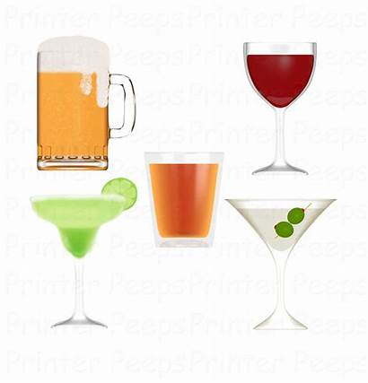 Alcohol Clipart Clip Wine Beer Scrapbook Clipground
