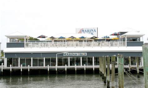 marina deck city md menu pony bar dining area open at marina deck oceancity