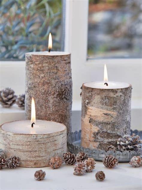 Dekoration Mit Kerzen by Fantastische Birkenstamm Deko Archzine Net