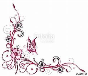 Umrandungen Vorlagen Kostenlos : ranke flora blumen bl ten kirschbl ten stockfotos und lizenzfreie vektoren auf ~ Orissabook.com Haus und Dekorationen