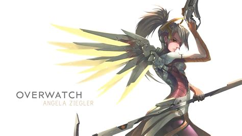 Blizzard's Overwatch Images Mercy Hd Wallpaper And