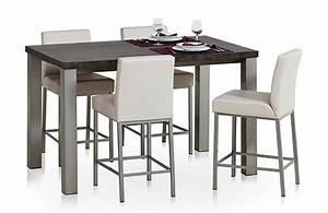 Table Cuisine Haute : table haute hauteur 90 ~ Teatrodelosmanantiales.com Idées de Décoration