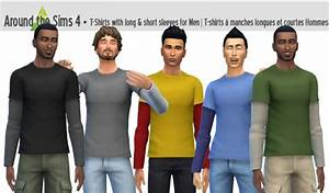 Around The Sims 4: Long Sleeves T-shirt with short sleeves