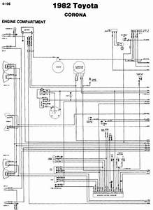 Toyota Corona Engine Wiring Diagrams For