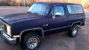 1987 Gmc Jimmy 4x4 Truck