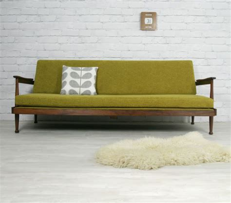 rogers retro vintage mid century style sofa sofabed daybed 1950s 60s