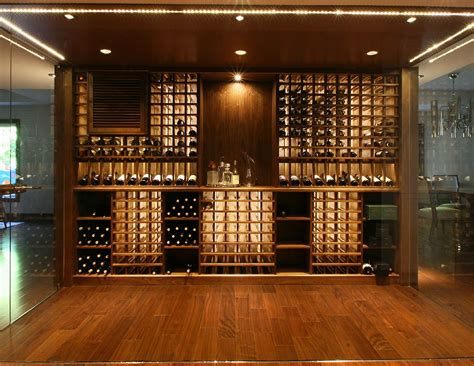 modern wine cellar  papro consulting house ideas