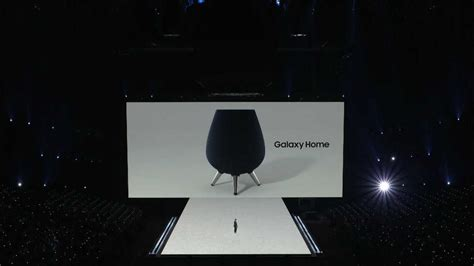 samsung s three legged galaxy home says hello to the smart speaker segment technology news