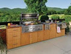 sustainable kitchen cabinets outdoor kitchen bbq island made to look like wooden 2624
