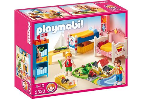 jeu de chambre playmobil 5333 jeu de construction chambre des