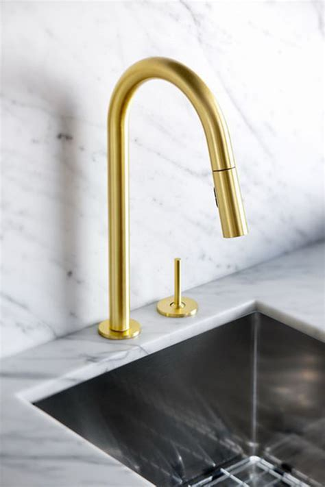 gold kitchen faucets gold is chic and modern brass fixtures to upgrate your