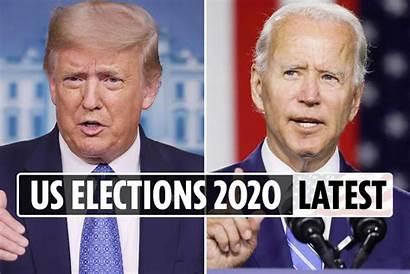 Election Trump Biden States Updates Battleground Latest