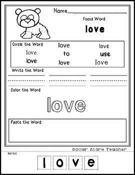 panda editable word worksheet  theme focus  dollar