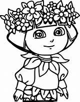 Coloring Diaper Super Printable Dora sketch template