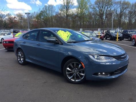 Chrysler 200 S For Sale by 2015 Chrysler 200 S Fwd Sedan For Sale In Paramus Nj