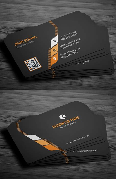 material design business card template free 27 new professional business card psd templates design