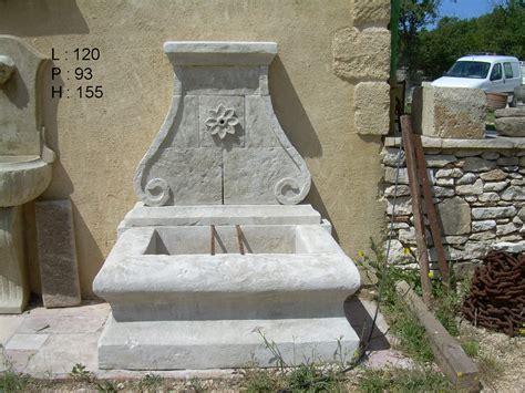 fontaine murale en neuve et vieillie les mat 233 riaux anciens jean chabaud