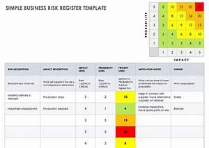 Risk Register Template Excel Free Download Free Risk Register Templates Smartsheet