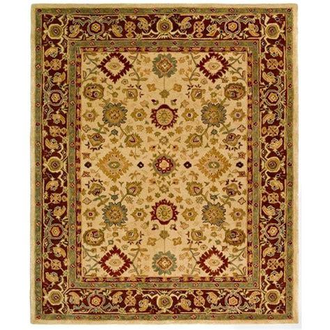 4 ft area rugs safavieh anatolia ivory brown 4 ft x 6 ft area rug