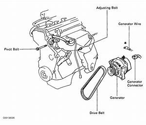 1994 Toyota Previa Serpentine Belt Routing And Timing Belt Diagrams