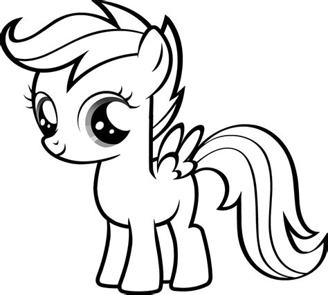 pony coloring pages coloringpages