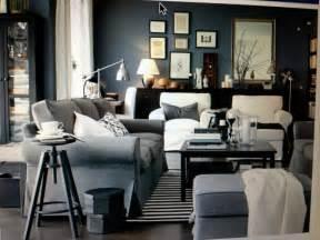 ikea livingroom ikea living room light blue grey large ottoman ikea