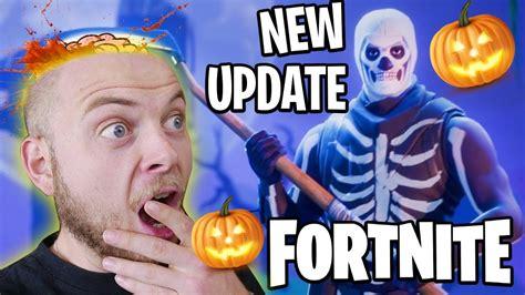 fabulous  halloween update fortnite