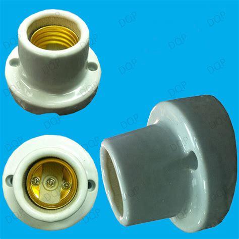 merco heat l socket glazed ceramic edison angled bulb holder es e27