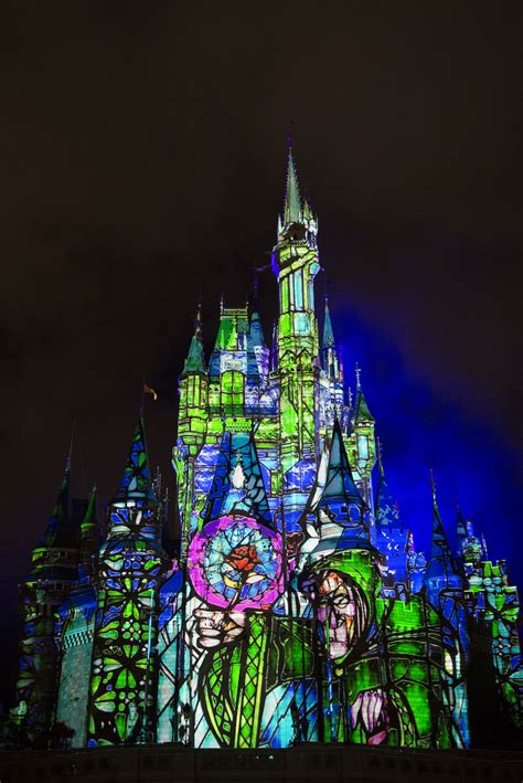 Disney Light Show by New Projection Show At Magic Kingdom Begins November 4