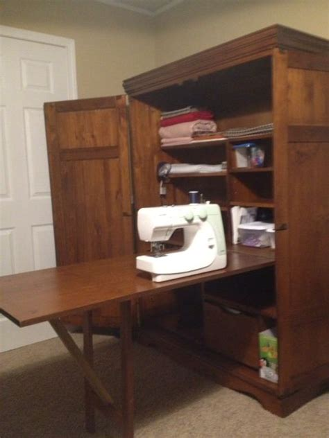 diy craft cabinet best 25 sewing cabinet ideas on small sewing