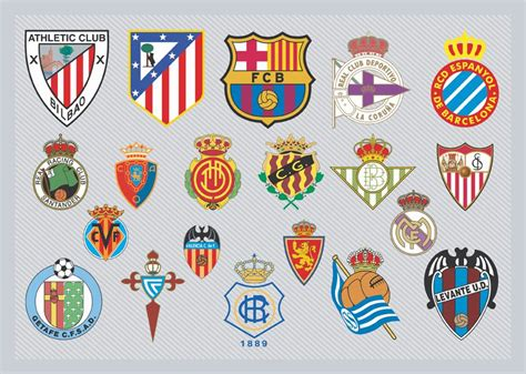 Spanish Football Team Logos Vector Art & Graphics