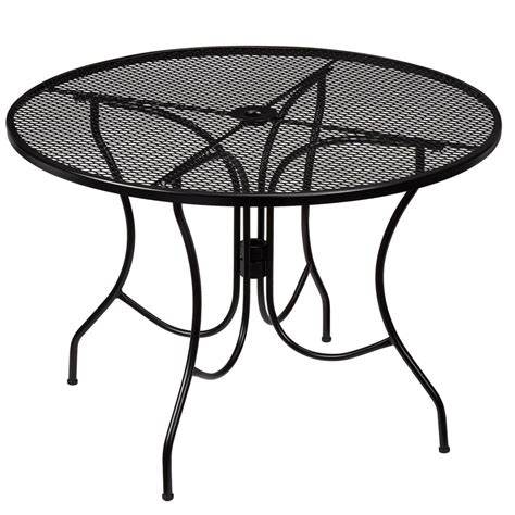 Hton Bay Nantucket Round Metal Outdoor Dining Table