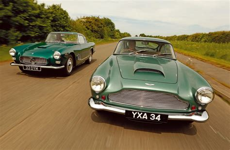 Aston Martin Db4 Vs. Maserati 3500gt Road Test