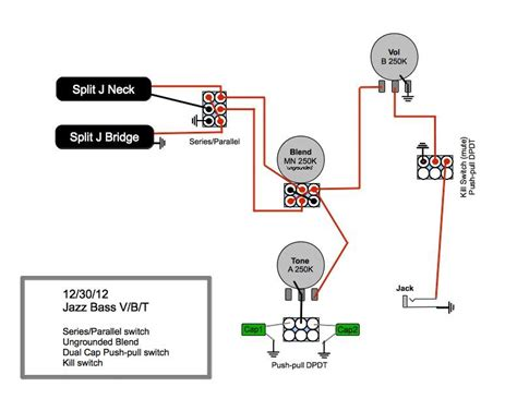back to passive j my wiring diagram talkbass