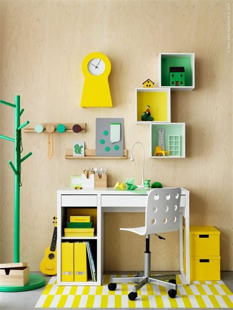Workspaces for Kids: Micke Desk by Ikea   Petit & Small