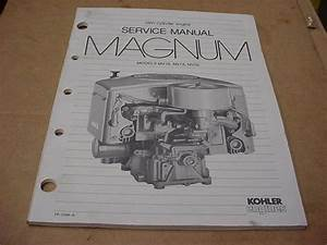 Kohler Magnum Mv16 Mv18 Mv20 Twin Engine Lawn