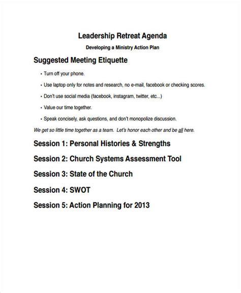 leadership agenda templates  premium templates